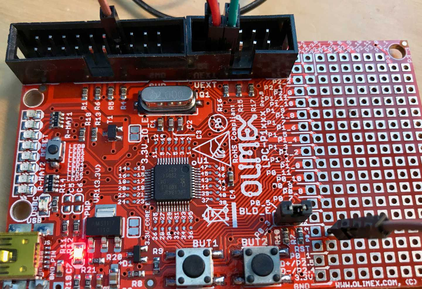 NXP LPC1343 Bootloader Bypass (Part 1) - Communicating with